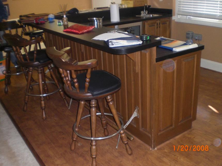 Basement Bar Custom Cabinets Of Atlanta